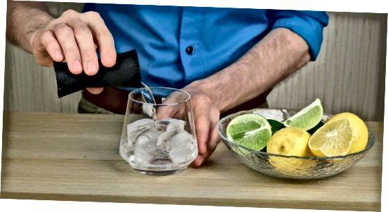 Bacardi Limon alleine trinken