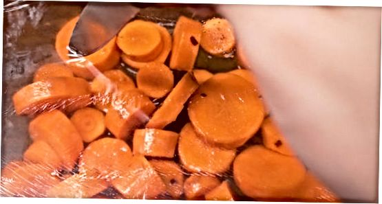 Shirin va baharatlı sabzi