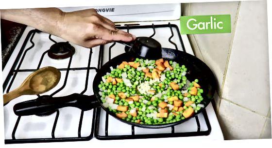 Kook de groenten