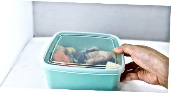 Чување печених поврћа у фрижидеру