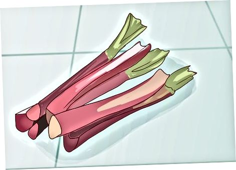 Pishirish uchun Rhubarb olish