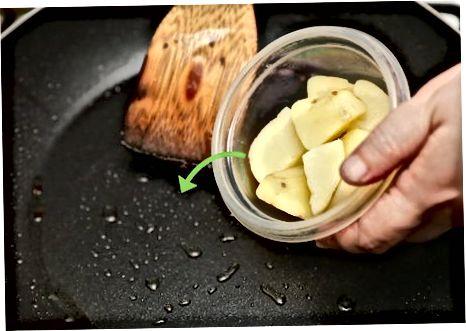 Sử dụng khoai tây Blanched của bạn