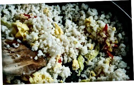 Basiskokos gebakken rijst maken