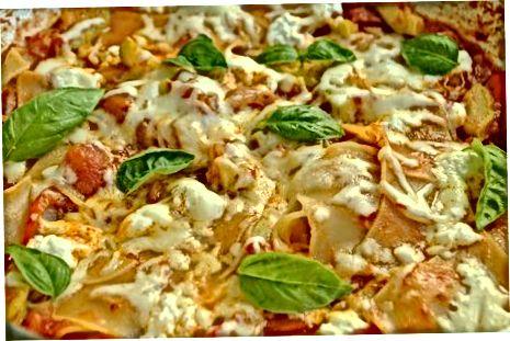 Vegetarian pechkasi Lasagna