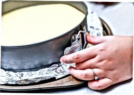 Печење колача на пергаменту
