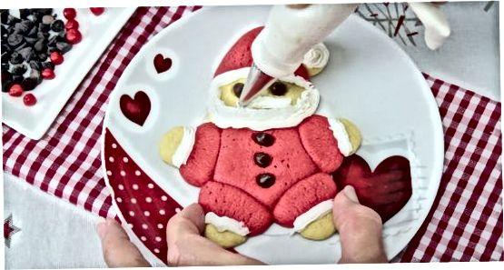 Pishirilgan Santa Cookies