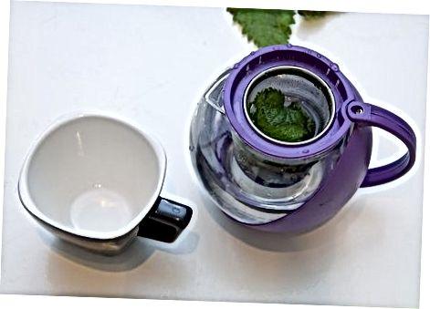 ჭინჭრის ჩაის დამზადება