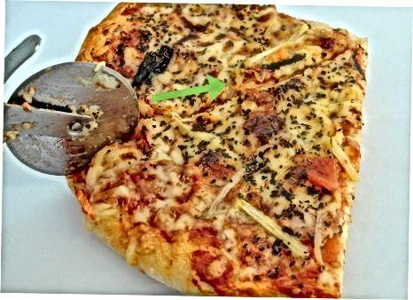 Pishirilgan pizza muzlatish