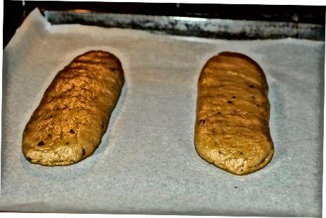 混合和烘烤饼干