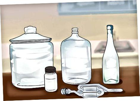 Vorräte und Zutaten zubereiten