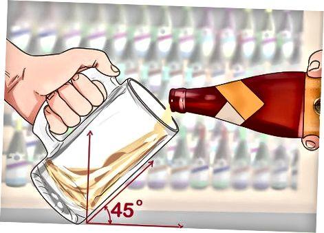Derramar sua cerveja corretamente