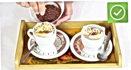 Pechkada Karamel Latte yasash