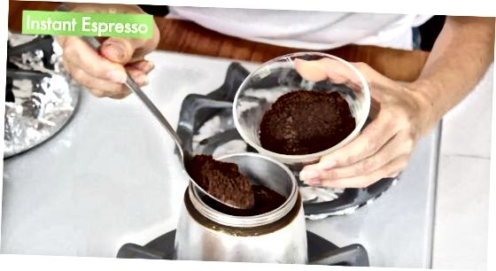 Espresso Maker-dan foydalanish