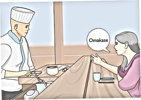 Kalbamės su suši šefu