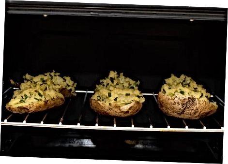 Vėl kepkite bulves