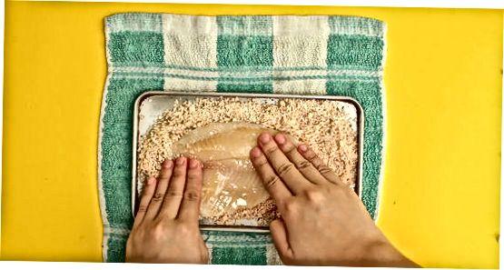 Crispy Parmesan Herb Breading