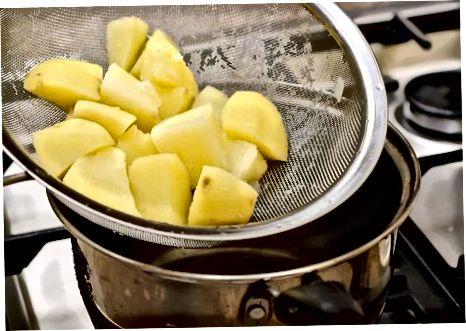 Kreminė wasabi bulvių košė