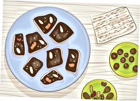 Përgatitja e një ëmbëlsirë Pashkësh Vegan