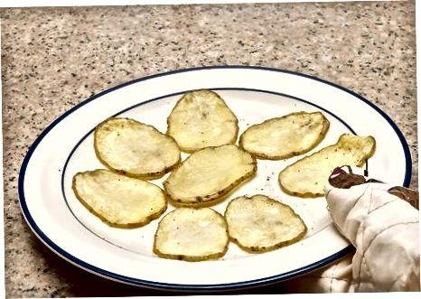 مایکروفر تراشه های سیب زمینی