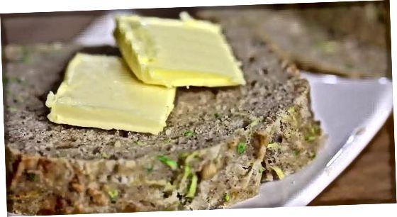 Tradicinė cukinijų duona