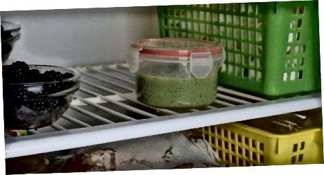 Чување и сервирање пире броколи