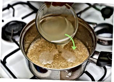 Maitse leotamine Quinoasse