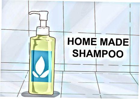 Uy choyi shampunini tayyorlash