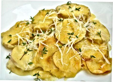 Überbackene Kartoffeln machen