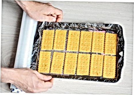 制作冰淇淋三明治