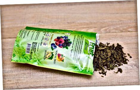 Заквашування чайного листя