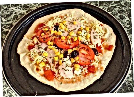 Oddiy pizza Burrito