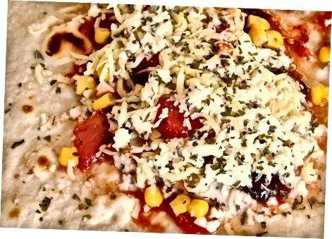 Grilllangan pizza Burrito