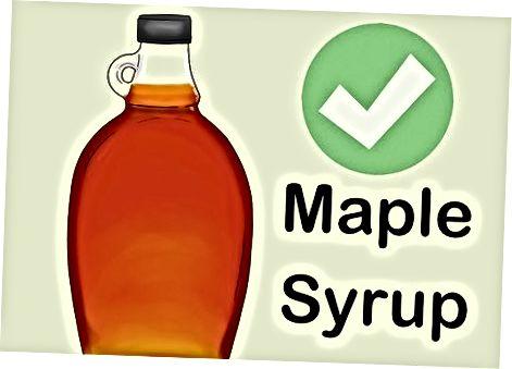 Ruda cukraus alternatyvų naudojimas