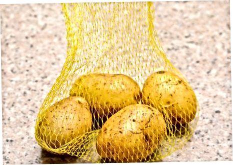Preparació de les patates
