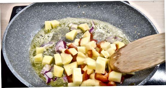 Vegeterian to'ldirishni tanlash