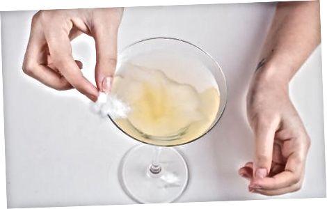 Ananas paxtasidan Martini tayyorlash