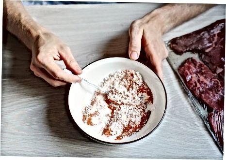 Прављење говеђег шницла