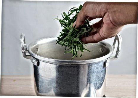 Etterbehandling av suppen