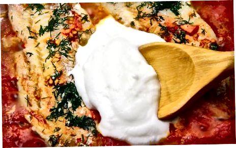 Yoghurt gebruiken als vervanging voor zure room