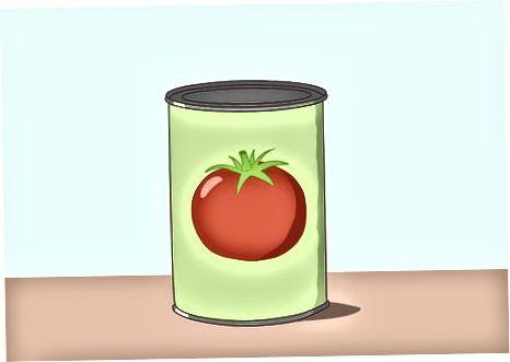 Nákup konzervovaných a čistých paradajok