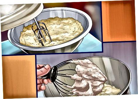 დაბალცხიმიანი ბანანის პუდინგების სამზარეულო