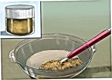 რძის და წებოვანის უფასო ბანანის პუდინგის მომზადება