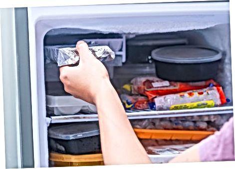 Ngrirja e ushqimit për fëmijë në kube