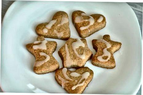 Ištisų kviečių sausainių gaminimas