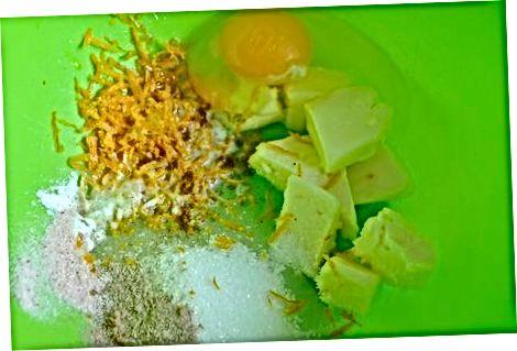 Padaryti paprastus viso kviečių cukraus slapukus