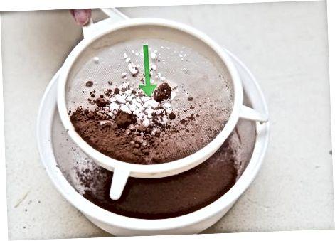 Sutli shokoladni muzdan tushirish