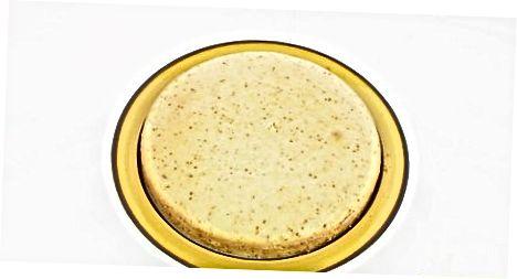 Fazendo bolo amarelo