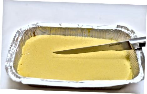 Beljenje kremne limonske mešanice
