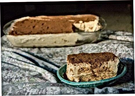 Montering av kaken