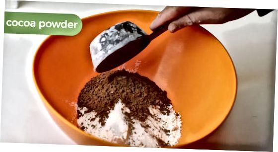הכנת פודינג אינסטנט שוקולד ביתי